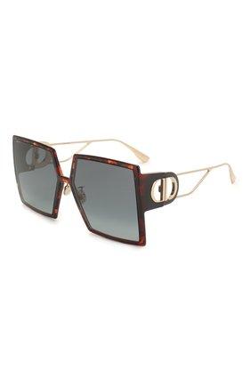 Женские солнцезащитные очки DIOR коричневого цвета, арт. 30M0NTAIGNE EPZ   Фото 1