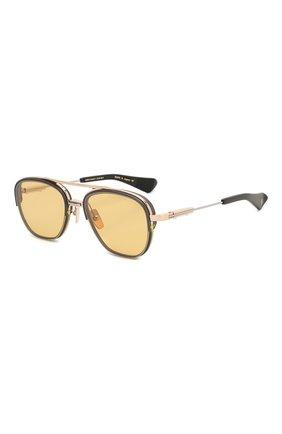 Женские солнцезащитные очки DITA желтого цвета, арт. RIKT0N-TYPE 402/01 | Фото 1