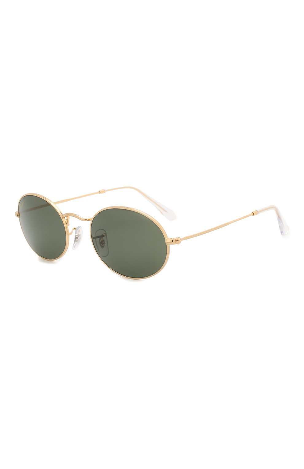 Женские солнцезащитные очки RAY-BAN золотого цвета, арт. 3547-919631 | Фото 1
