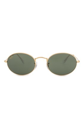 Женские солнцезащитные очки RAY-BAN золотого цвета, арт. 3547-919631 | Фото 4
