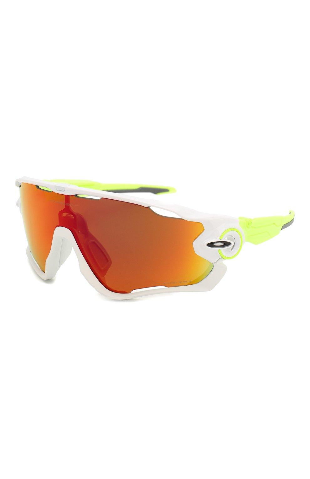 Женские солнцезащитные очки OAKLEY желтого цвета, арт. 9290-929058 | Фото 1
