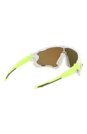 Женские солнцезащитные очки OAKLEY желтого цвета, арт. 9290-929058 | Фото 5