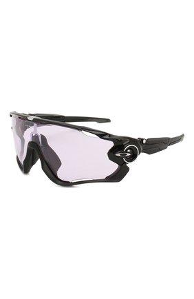 Женские солнцезащитные очки OAKLEY черного цвета, арт. 9290-929054 | Фото 1