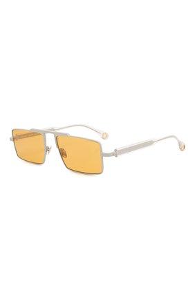Женские солнцезащитные очки ÉTUDES оранжевого цвета, арт. EASTERN GREY CR WITH CHAIN | Фото 4