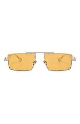 Женские солнцезащитные очки ÉTUDES оранжевого цвета, арт. EASTERN GREY CR WITH CHAIN | Фото 5