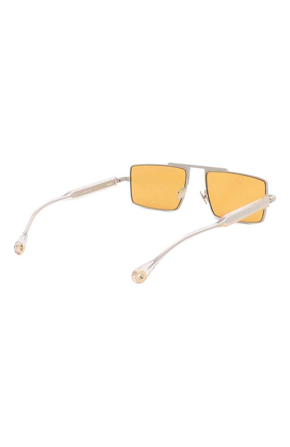 Женские солнцезащитные очки ÉTUDES оранжевого цвета, арт. EASTERN GREY CR WITH CHAIN | Фото 6