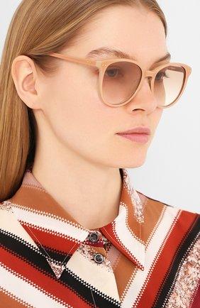 Женские солнцезащитные очки LE SPECS коричневого цвета, арт. LQQKS/1926360 | Фото 2