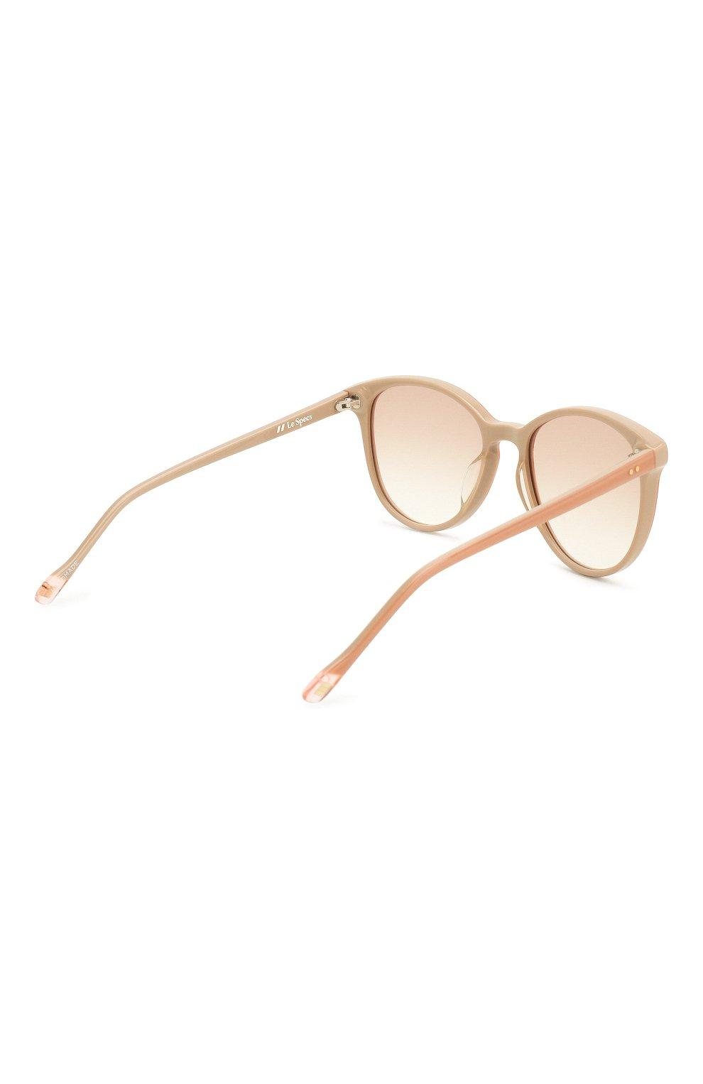 Женские солнцезащитные очки LE SPECS коричневого цвета, арт. LQQKS/1926360 | Фото 4