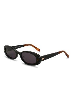 Женские солнцезащитные очки LE SPECS черного цвета, арт. THE 0UTLAW/1926334   Фото 1 (Тип очков: С/з; Оптика Гендер: оптика-женское; Очки форма: Овальные)