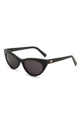 Женские солнцезащитные очки LE SPECS черного цвета, арт. BUNNY H0P/1926341   Фото 1 (Тип очков: С/з; Очки форма: Cat-eye; Оптика Гендер: оптика-женское)