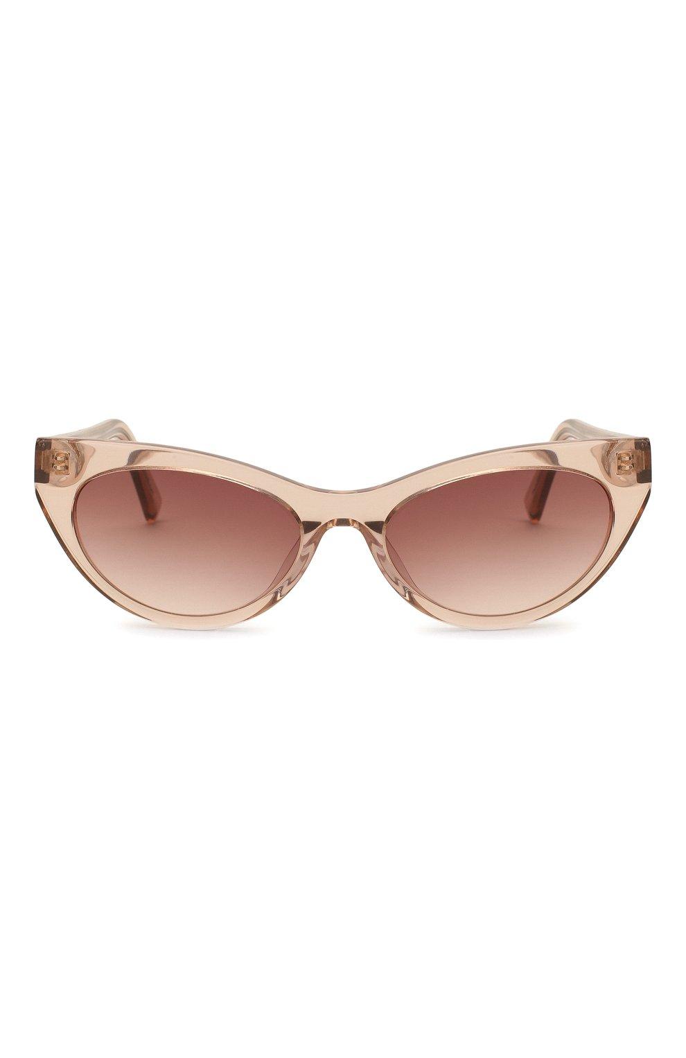 Женские солнцезащитные очки LE SPECS коричневого цвета, арт. BUNNY H0P/1926342   Фото 3