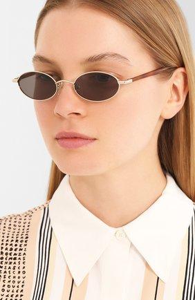 Женские солнцезащитные очки LE SPECS черного цвета, арт. S0RCERER/1926324   Фото 2 (Тип очков: С/з; Оптика Гендер: оптика-унисекс; Очки форма: Овальные)