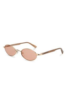 Женские солнцезащитные очки LE SPECS коричневого цвета, арт. S0RCERER/1926326   Фото 1 (Тип очков: С/з; Очки форма: Овальные; Оптика Гендер: оптика-унисекс)