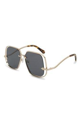 Мужские солнцезащитные очки KAREN WALKER черного цвета, арт. HYPATIA/2001877 | Фото 1