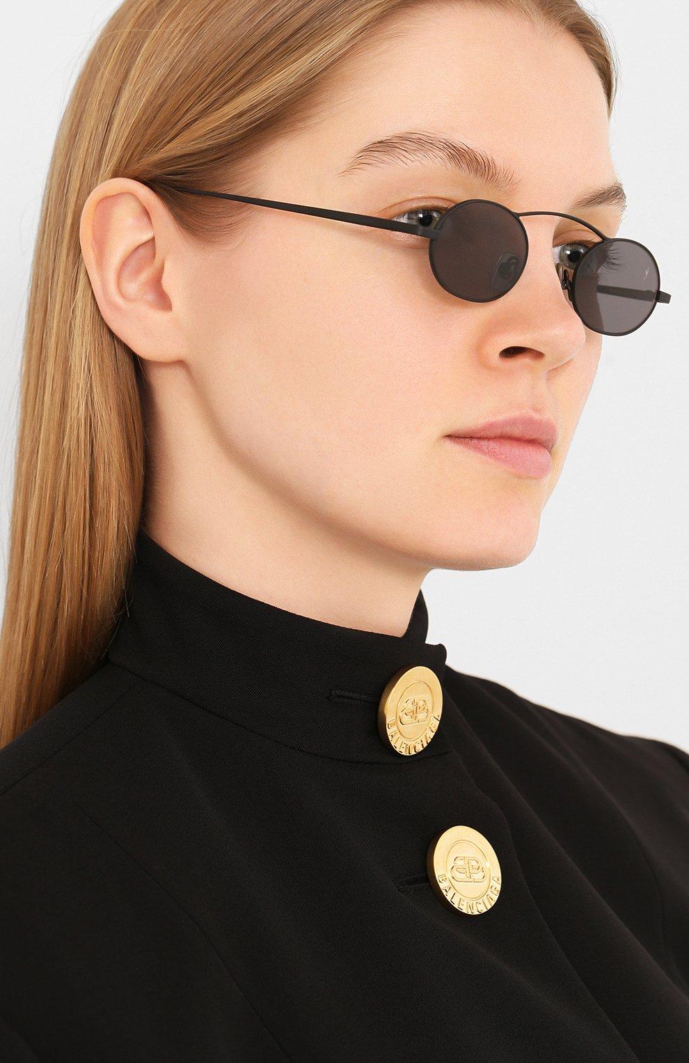Женские солнцезащитные очки EYEPETIZER черного цвета, арт. BIRKIN 6-7 | Фото 2