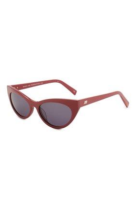 Женские солнцезащитные очки LE SPECS красного цвета, арт. BUNNY H0P/1926339   Фото 1 (Тип очков: С/з; Оптика Гендер: оптика-женское; Очки форма: Cat-eye)