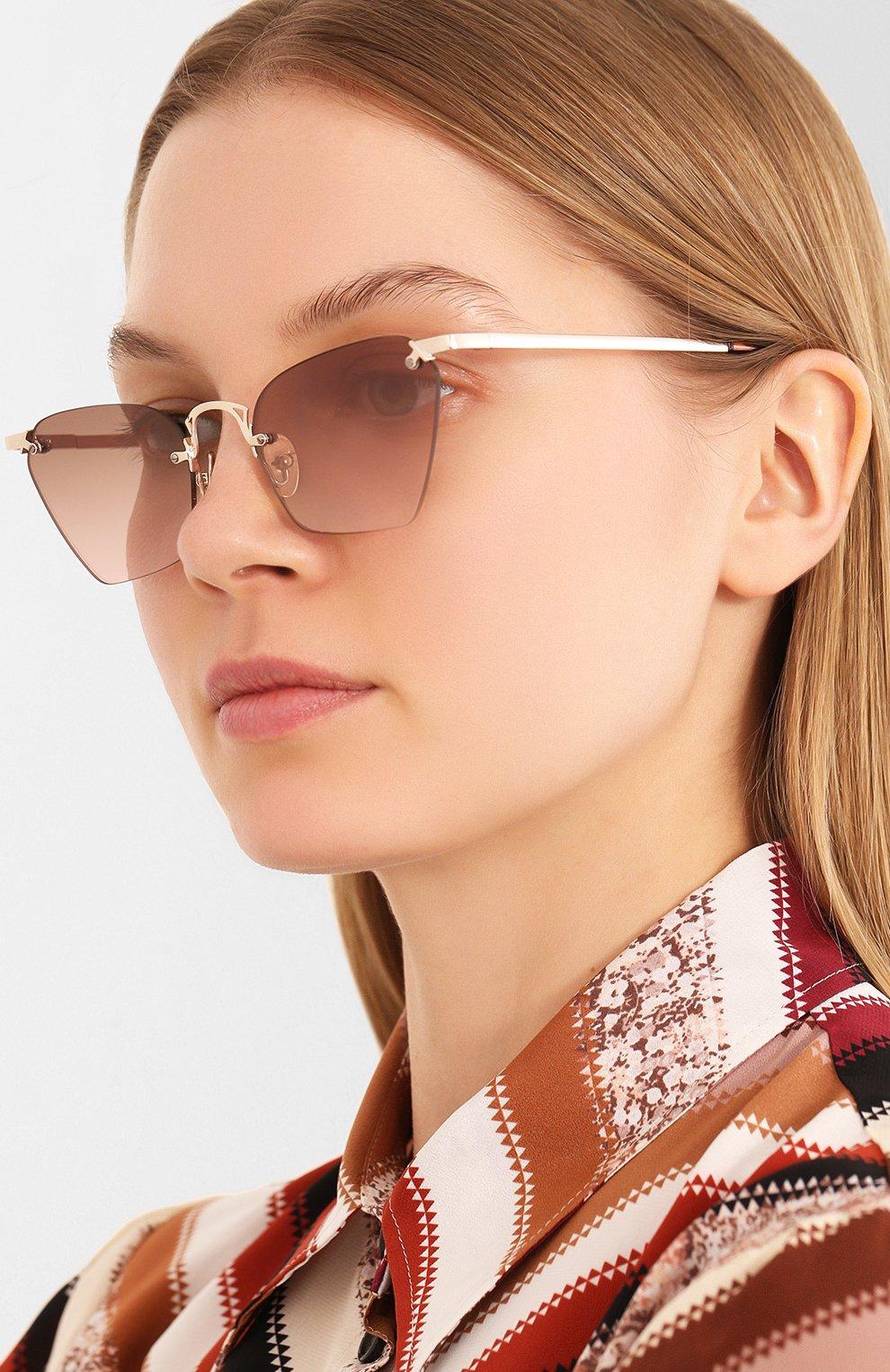 Женские солнцезащитные очки LE SPECS LUXE коричневого цвета, арт. PIT ST0P/1901423 | Фото 2