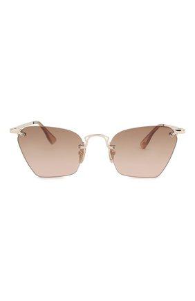 Женские солнцезащитные очки LE SPECS LUXE коричневого цвета, арт. PIT ST0P/1901423 | Фото 3