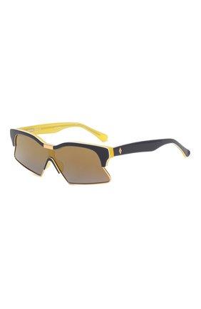 Женские солнцезащитные очки MARCELO BURLON синего цвета, арт. MB3C2 SUN | Фото 1