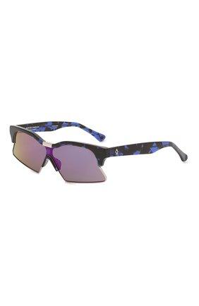 Женские солнцезащитные очки MARCELO BURLON синего цвета, арт. MB3C3 SUN | Фото 1