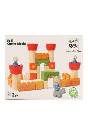 Детского игрушка конструктор замок PLAN TOYS разноцветного цвета, арт. 5651 | Фото 1
