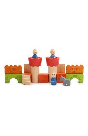Детского игрушка конструктор замок PLAN TOYS разноцветного цвета, арт. 5651 | Фото 2