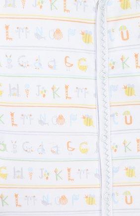 Детский хлопковый комбинезон KISSY KISSY разноцветного цвета, арт. KNQ04162N   Фото 3