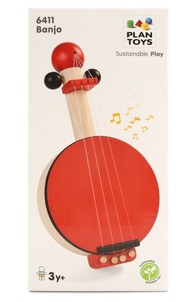 Детского игрушка банджо PLAN TOYS разноцветного цвета, арт. 6411 | Фото 1