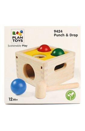 Детского игрушка забивалка молоток PLAN TOYS разноцветного цвета, арт. 9424 | Фото 1
