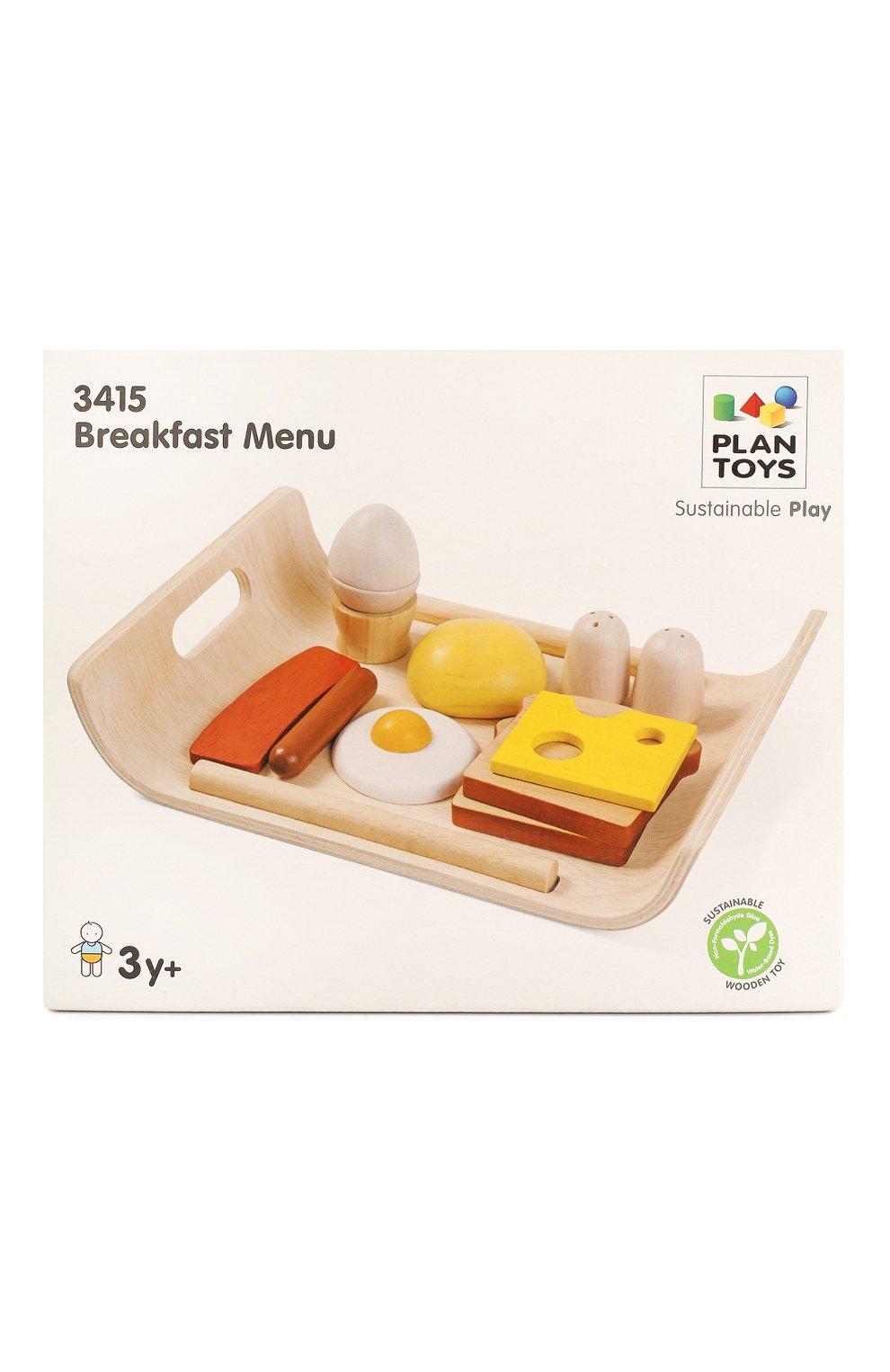 Детского игрушка набор завтрак PLAN TOYS разноцветного цвета, арт. 3415 | Фото 1