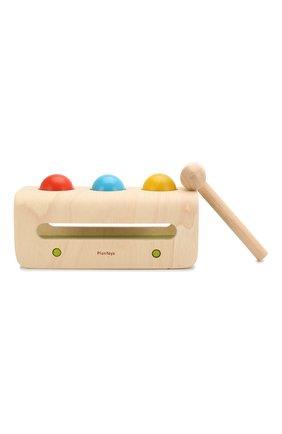Детского игрушка забивалка с шарами PLAN TOYS разноцветного цвета, арт. 5348 | Фото 2