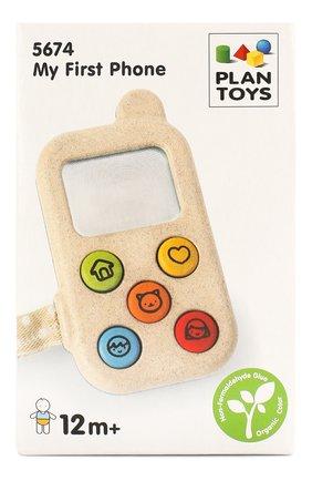 Детского игрушка телефон PLAN TOYS разноцветного цвета, арт. 5674 | Фото 1