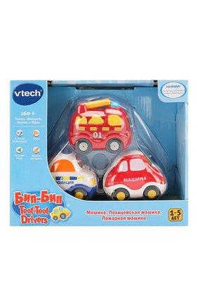 Детского набор из 3 машинок VTECH разноцветного цвета, арт. 80-205866 | Фото 1
