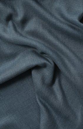 Мужской шарф из смеси кашемира и шелка LORO PIANA голубого цвета, арт. FAE3318 | Фото 2