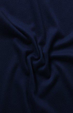 Мужской кашемировый шарф grande unita LORO PIANA синего цвета, арт. FAB9149 | Фото 2
