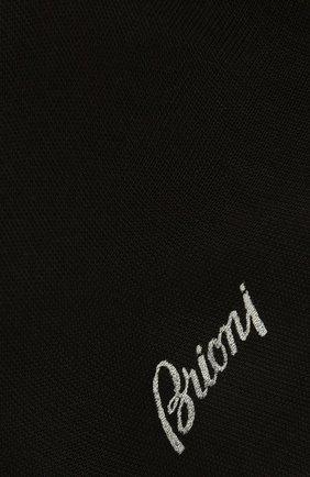 Мужские хлопковые носки BRIONI черного цвета, арт. 0VMC/P3Z19 | Фото 2