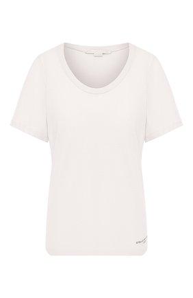 Женская хлопковая футболка STELLA MCCARTNEY белого цвета, арт. 600780/SNW94 | Фото 1