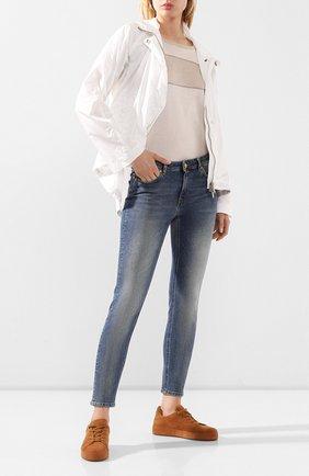 Женская куртка LORENA ANTONIAZZI белого цвета, арт. E2004CP062/2458 | Фото 2