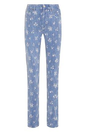 Женские джинсы POLO RALPH LAUREN голубого цвета, арт. 211789889 | Фото 1
