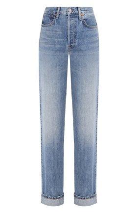 Женские джинсы RE/DONE голубого цвета, арт. 188-3W9RL/MEDIUM SPECKLE | Фото 1
