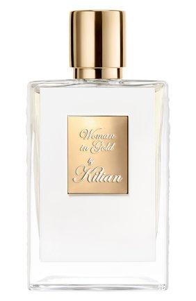 Женский парфюмерная вода woman in gold KILIAN бесцветного цвета, арт. 3700550218210 | Фото 1