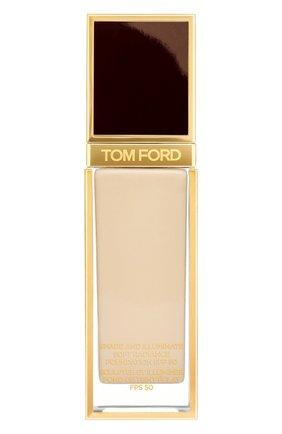 Женское тональная основа shade and illuminate spf50, оттенок 2.5 linen TOM FORD бесцветного цвета, арт. T73C-09 | Фото 1