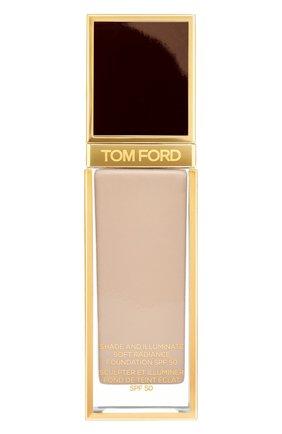 Женское тональная основа shade and illuminate spf50, оттенок 5.7 dune TOM FORD бесцветного цвета, арт. T73C-18 | Фото 1
