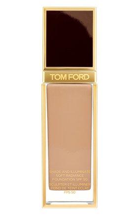 Женское тональная основа shade and illuminate spf50, оттенок 7.7 honey TOM FORD бесцветного цвета, арт. T73C-22 | Фото 1
