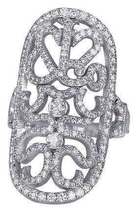 Женские кольцо JACOB & CO белого золота цвета, арт. 91121875 | Фото 1
