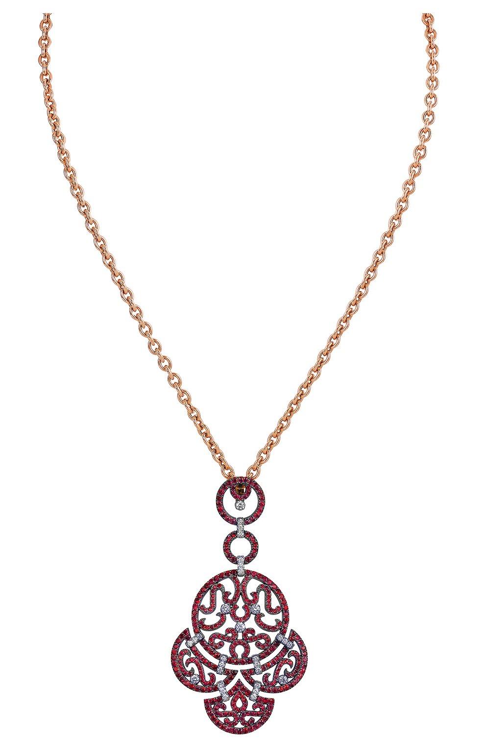 Женские кулон JACOB & CO розового золота цвета, арт. 91226235   Фото 1