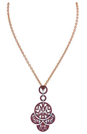 Женские кулон JACOB & CO розового золота цвета, арт. 91226235 | Фото 1