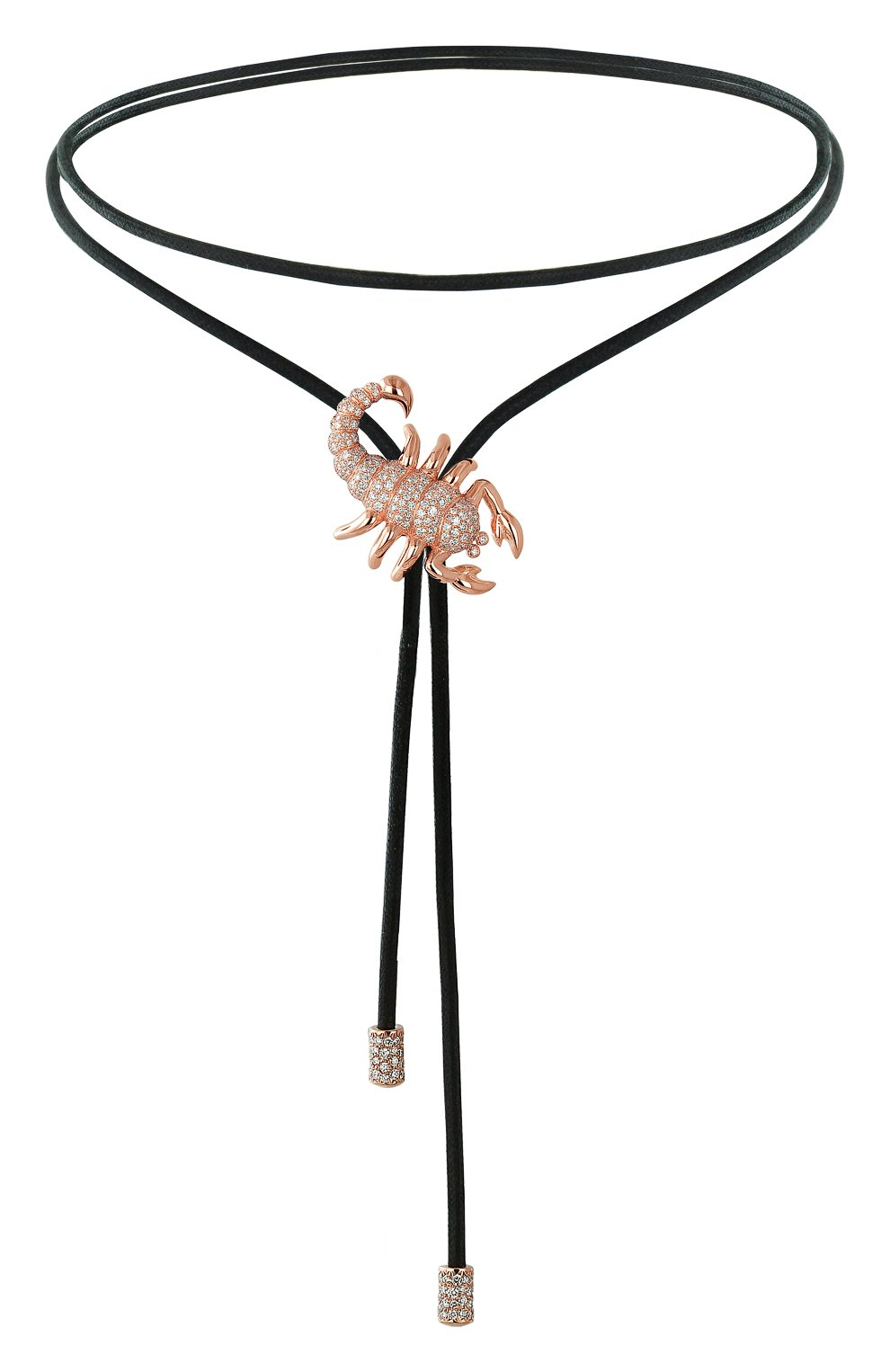 "Женские колье ""скорпион"" JACOB & CO розового золота цвета, арт. 91738951 | Фото 1"