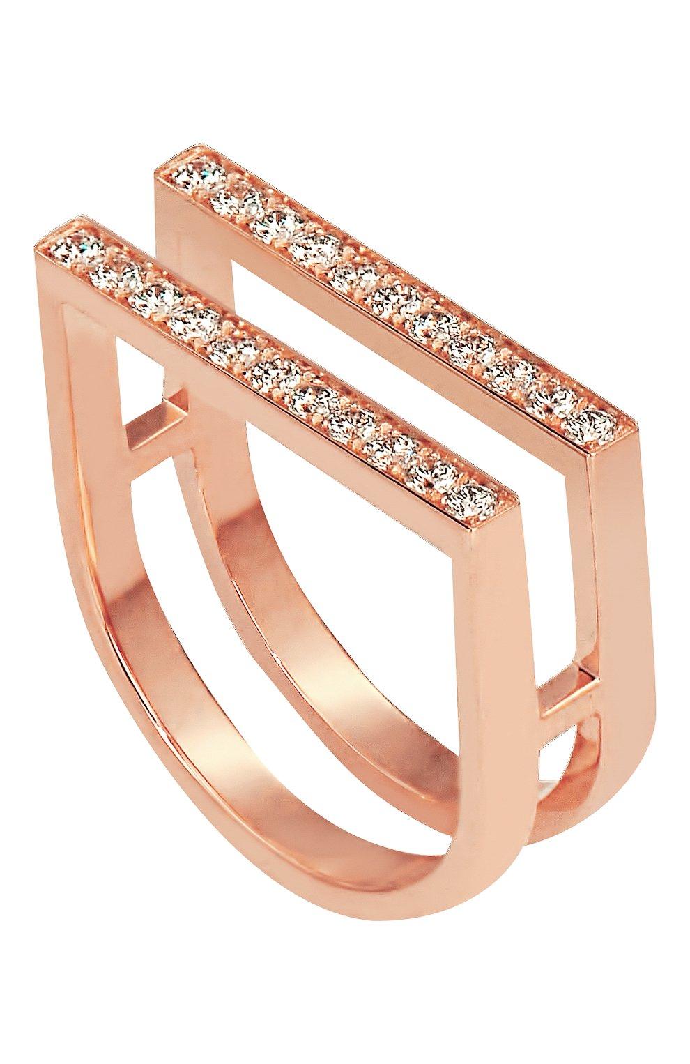 Женские кольцо JACOB & CO розового золота цвета, арт. 91739356 | Фото 1