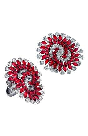Женские кольцо JACOB & CO бесцветного цвета, арт. 91841264 | Фото 1